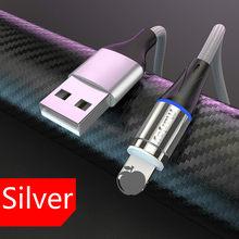 1 м 2 м Магнитный Micro USB кабель для iPhone samsung Android мобильный телефон Быстрая зарядка usb type C кабель магнитное зарядное устройство провод шнур(China)