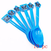 10pcs Batman Party Supplies Plastic Fork Christmas/Festival Kids Birthday theme Superhero Party Decoration Baby Shower Favors(China)
