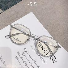 -1,5-2,0-2,5-3,0-3,5-4,0 многоугольник, очки для близорукости, Для женщин мужчин Винтаж и прозрачными стеклами для молодых людей; Короткие ботинки-при...(Китай)