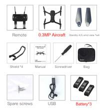 Eachine E58 WIFI FPV Com A Câmera HD Grande Angular de Alta Modo Hold Dobrável Braço RC Quadcopter Drone RTF XS809HW H37(China)