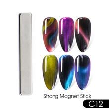 25 стилей магнит Fr гель лак для ногтей инструмент кошачий глаз магнит для дизайна ногтей 3D мульти-линия полосы эффект магнитная ручка для ман...(China)