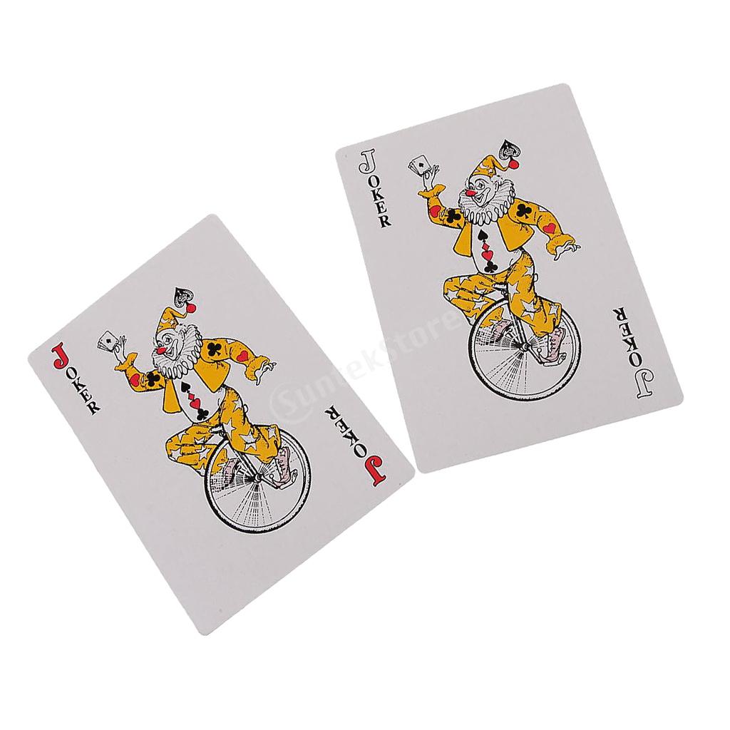 52pcs Giant Playing Cards Jumbo Poker Outdoor Magic Family Party Game Card