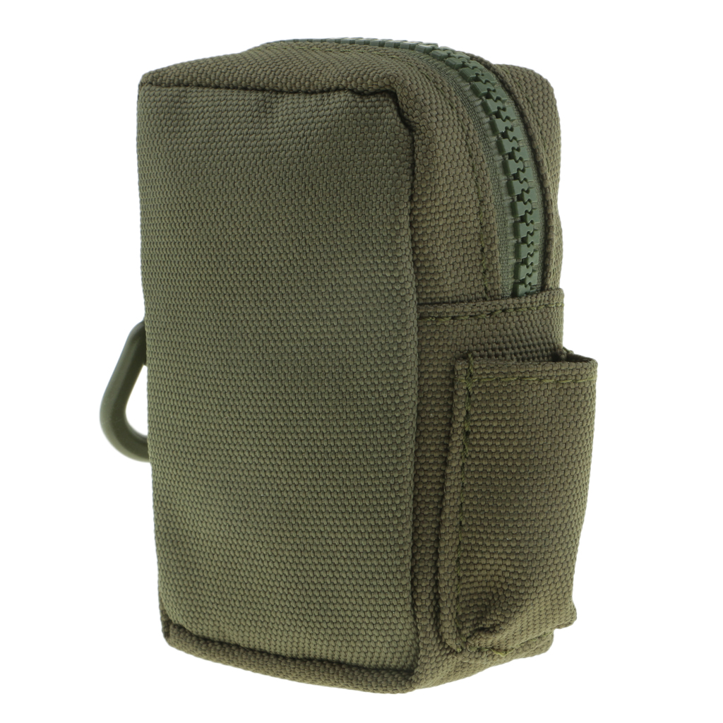 Molle Belt Pouch Utility Belt Pouch Accessory Bag MOLLE Waist Bag for Phone, Keychain, Small Tools