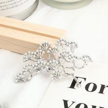 1 PC Maple Daun Bros Logam Vintage Wanita Gadis Charmingexquisite Kerah Lapel Pin Fashion Perhiasan Pesta Aksesoris Pakaian(China)