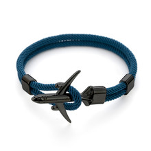 Nowy samolot bransoletka mężczyźni kobiety łańcuch liny Paracord Charm bransoletki przetrwania styl lotnictwa sportowa opaska na ramię bransoletka Trendy biżuteria(China)