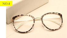 Imwete оптические прозрачные очки женские очки для близорукости оправы для очков металлические очки прозрачные линзы женские очки(Китай)