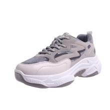 Fujin Giày Nữ Mắt Cá Chân Giày Sneaker Nữ Giày Mùa Đông Phối Ren Giày Bốt Nữ Comfortabfor Nữ Giày Nữ Mùa Đông Boot(China)