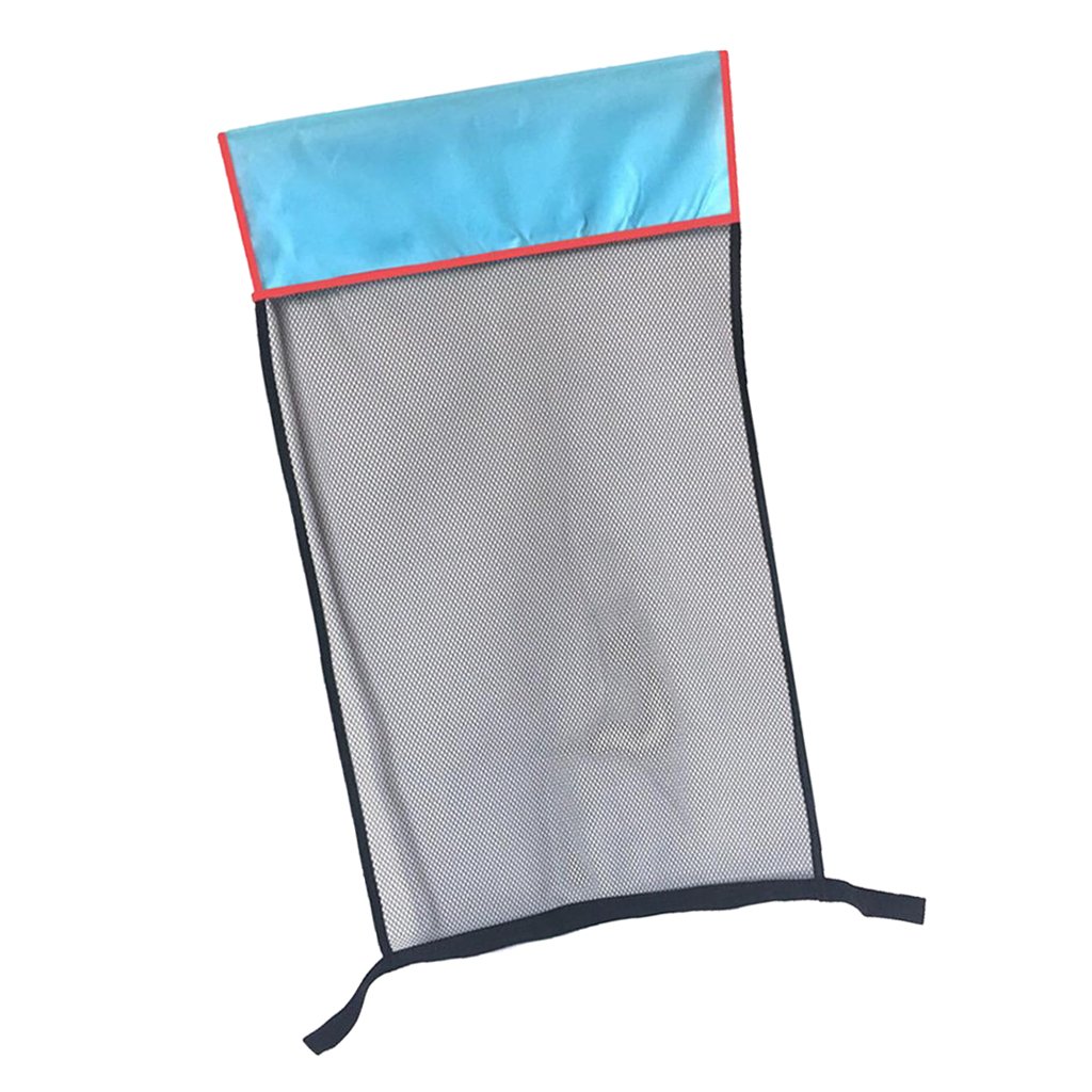 Floating Pool Chair 2.5 inch Dia Noodle Sling Swimming Mesh Net Seat Water Float