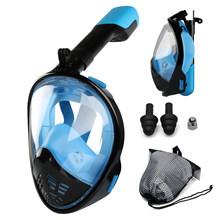 2019 Nieuwe Onderwater Scuba Anti Fog Volledige Gezicht Duikbril Snorkelen Set Respiratoire maskers Veilig en waterdicht Zwemmen Apparatuur(China)