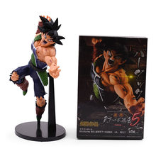 22cm anime dragon ball z ressurreição f super saiyan son goku bardock figura de ação pvc collectible modelo boneca brinquedo natal(China)