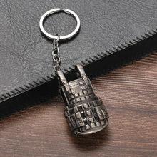 ใหม่ PUBG พวงกุญแจ PAN หมวกกันน็อก 98K AWM M24 M416 คอสเพลย์ Props Key แหวน(China)
