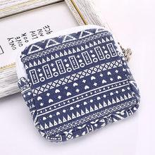 Balleenbrillant Tampon sac de rangement cosmétique écouteur écouteurs organisateur Mini sac à main porte-clés pièce femmes voyage serviette sacs à fermeture éclair(China)