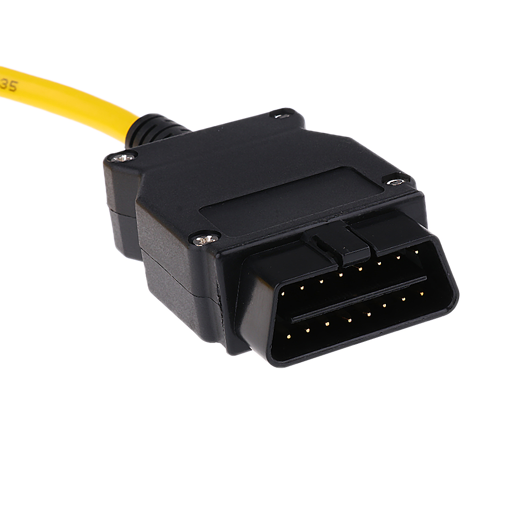 23.4 V50.3 Data Cable ENET Ethernet to OBD Interface E-SYS ICOM Code for BMW