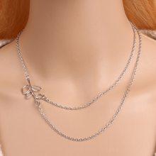 BoHo Multilayer Rantai Emas Kalung Wanita Round Manik-manik Kalung Fashion Daun Burung Liontin Kalung Perhiasan Sederhana Klavikula Kalung(China)