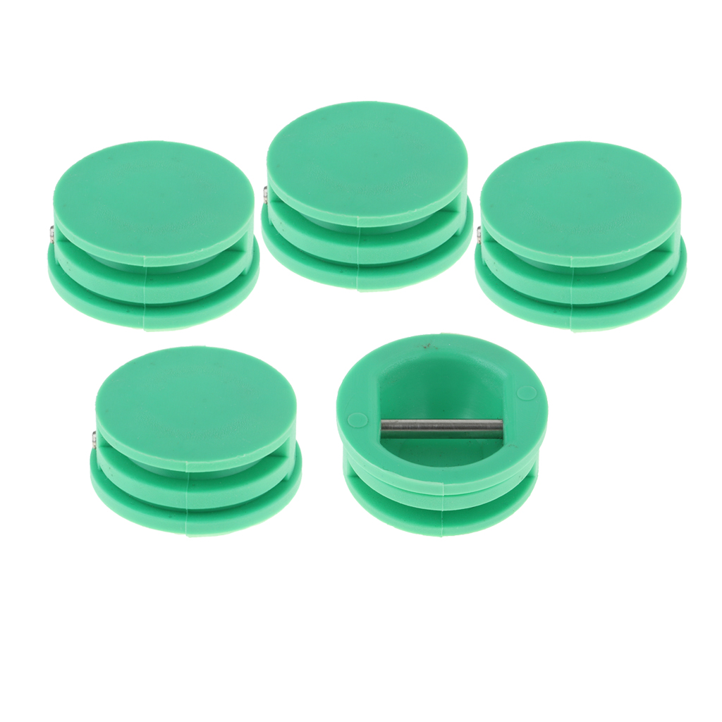 5pcs 3cm Diameter Water Sports Surfboard Leash Plug Repair Parts Surf Plugs Wakeboard - Green