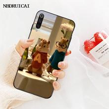 NBDRUICAI Alvin y las Ardillas de teléfono negro para vivo v11 Pro 2019 X20 X9 más X23 x play caso 6 caso(China)