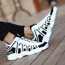 Sepatu Wanita Olahraga Sepatu Terengah-engah Platform Sneakers Keranjang Femme Zapatillas Mujer Kasual Putih Sepatu + Wanita Plus Ukuran 9 43(China)
