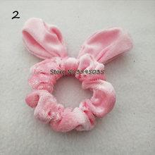 Женские бархатные резинки для волос с кроликом, прочные резинки для волос, аксессуары для волос(China)