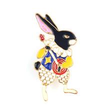 Alice In Wonderland Enamel Pin Set Bros Kelinci Jantung Cangkir Teh Labu Mobil Teh Pot Istana Tombol Lencana Lucu Pin untuk Pesta Hadiah(China)