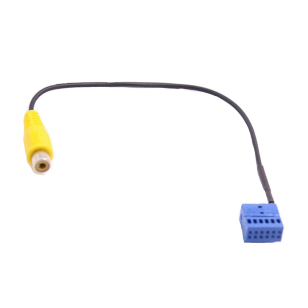 Car Accessory Rear View Camera Cable Adaptor for VW Golf VI Passat B6 Touran
