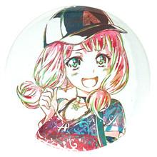 BanG Rêve! Dessin animé Roselia HHW Misaki Kanon Kokoro Lisa Ako Sayo Hina Yukina Moca Aya jeu icône en métal(China)