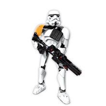 Звездные войны, Штурмовик Дарт Вейдер Kylo Ren Chewbacca Boba Jango Fett General grivou, строительный блок, модель фигуры, игрушки(Китай)