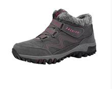 STQ kış kadın kar botları ayakkabı yuvarlak ayak yüksekliği artan yarım çizmeler ayakkabı bayanlar düz sıcak itme dantel-up kar çizmeler 6139(China)