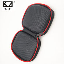 New KZ Case Bag High End In Ear Earphone Headphones Storage Case Bag Earphone Case bag EVA zipper bag AS10 ZS10 ES4(China)