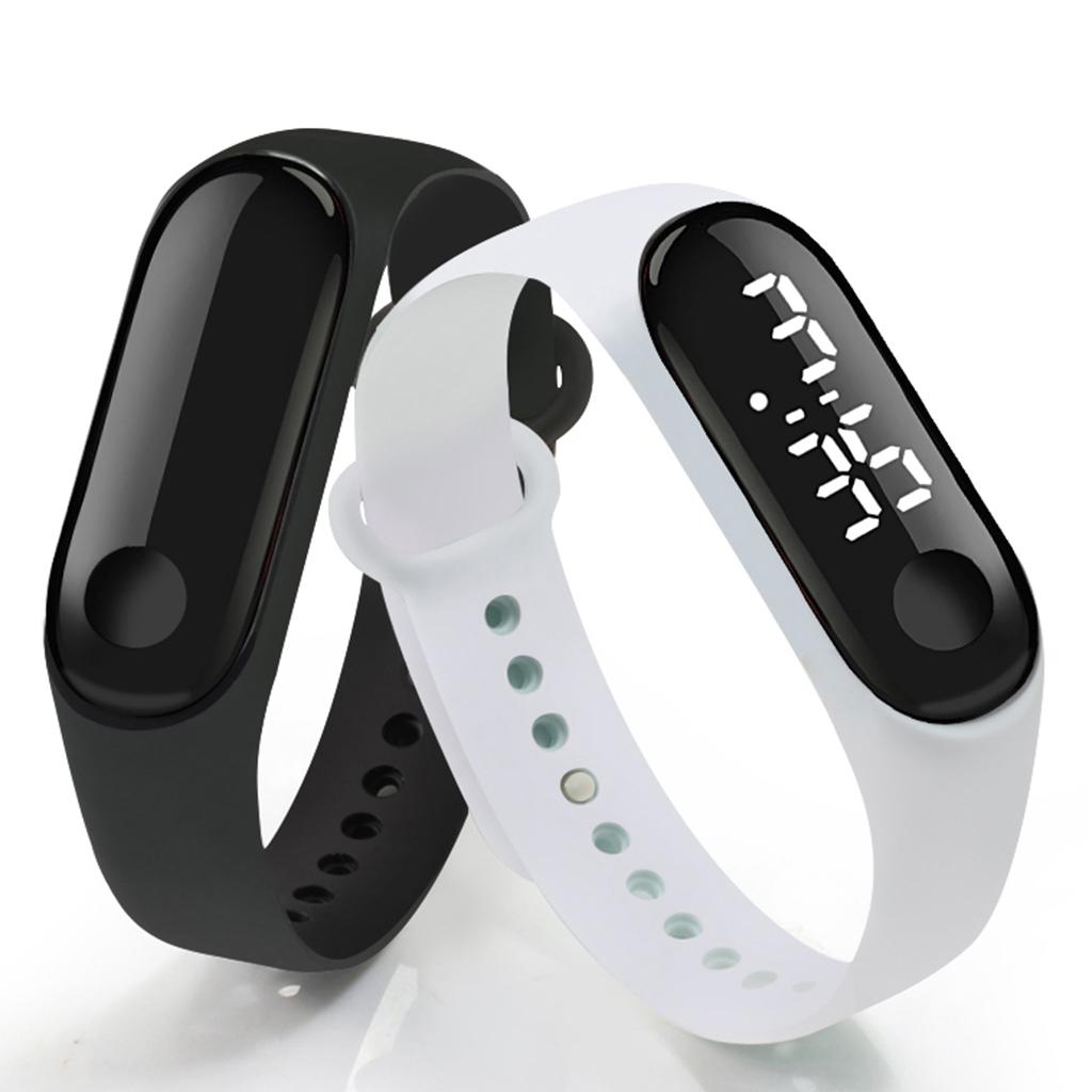 Kids&Adult SmartWatch LED Watch Sport Digital Touch Screen Outdoor Strap Band Wristwatch Watches Boys Girls Fashion Smart Watch