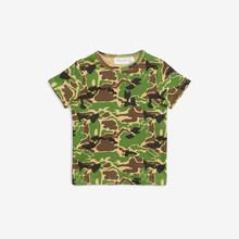 Pre-venta MR 2020 conjunto de niños y niñas conjuntos para bebés de verano ropa de manga corta de algodón + trajes de pantalones con estampado de camuflaje(China)