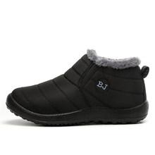 Winter Stiefel Für Männer Knöchel Schnee Stiefel Paar Wasserdichte Baumwolle Winter Stiefel Warm Plüsch Anti Ski Schuhe Frauen Botas Hombre 35-47 #(China)