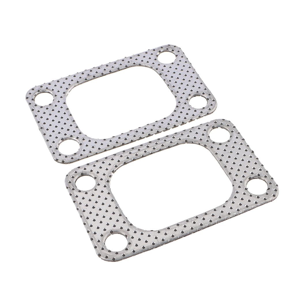 2PCS Universal Gasket For T35 T38 GT35 GT35R TURBO Manifold Outlet TU-CGQ26S