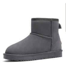 2019 neue Echtem Leder Pelz Schnee Stiefel Frauen Top Hohe Qualität Australien Stiefel Winter Stiefel für Frauen Warme Botas Mujer(China)