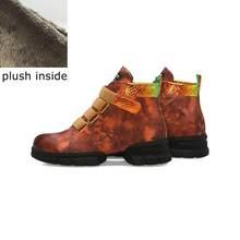 ALLBITEFO neue marke Spezielle materialien frauen stiefel mode stiefeletten Herbst Winter schnalle charming stiefel komfortable(China)