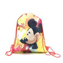 Red Mickey Mouse Perlengkapan Pesta Ulang Tahun Dekorasi Anak-anak Sekali Pakai Piring Taplak Meja Cangkir Bendera Balon Baby Shower Anak Nikmat(China)