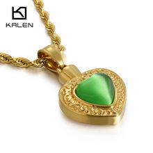 บัลแกเรียทองสแตนเลสสตีลหัวใจสร้อยคอผู้หญิงคริสตัลหัวใจ Charm Choker สร้อยคอหมั้นเครื่องประดับ(China)