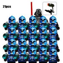 21 шт./лот Звездные войны SW442 клон коммандер солдат SW0314 капитан Рекс коммандер Коди фигурка Строительный Блок Детские игрушки для детей(Китай)