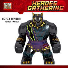 Legoing Conjuntos Passatempos Brinquedo Thanos Maravilha Hulk Spider-Man character Modelo blocos Vingadores Legoings Presente Brinquedo Educacional das Crianças(China)