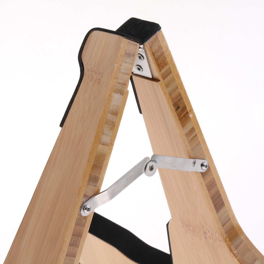Folding A Frame Guitar Stand Holder Support for Musical Performance