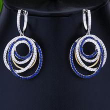 GODKI קוריאני טרנדי 3pcs Crossover שמנמן תכשיטי סט נשים חתונה מעוקב Zirconia דובאי זהב שרשרת עגיל טבעת תכשיטי סטים(China)
