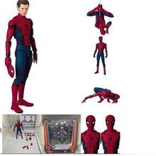 NEW hot 15 centímetros Vingadores Spiderman Super hero Spider-Man: regresso a casa brinquedos Action figure boneca coleção presente de Natal com caixa(China)