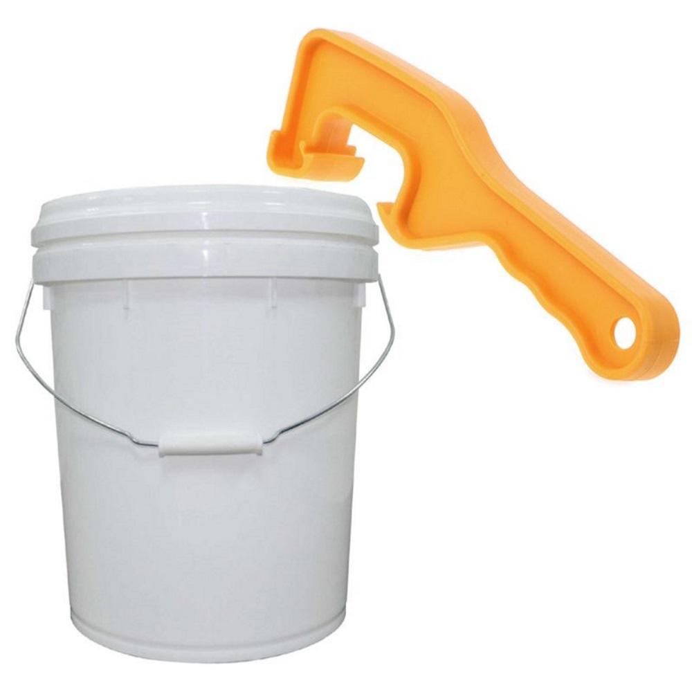 Bucket Pail Opener Paint Barrel Can Lid Honey Bucket Opener Opening Tool 2PCS