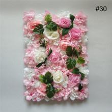 Искусственная Шелковый цветок розы стеновых панелей для отделки стен искусственные цветы для свадьбы детских празднований дня рождения ве...(Китай)