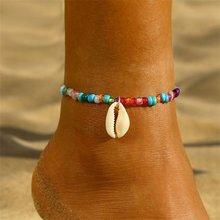 ขายตรงแฟชั่น Bohemian Sliver ข้อเท้าสำหรับสตรี New Gold ใบแผนที่ Anklets สร้อยข้อมือขาเท้าเท้าเท้าเครื่องประด...(China)