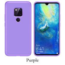Originale Antiurto Per Il Caso di Huawei P20 P30 Honor 10 Lite P di Smart 2019 Silicone Custodie Per Huawei Compagno di 20 30 pro Molle Della Copertura Posteriore(China)