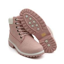 Fujin الشتاء أحذية حريمي برقبة 2019 الدافئة الفراء أفخم أحذية رياضية النساء الثلوج أحذية الشتاء امرأة بوتاس Mujer النساء حذاء من الجلد(China)