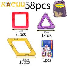 KACUU grande taille blocs magnétiques magnétique concepteur constructeur ensemble modèle et construction jouet aimants jouets éducatifs pour les enfants(China)