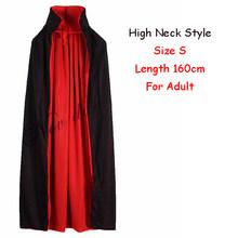 สีแดงสีดำแม่มดแวมไพร์ฮาโลวีนเสื้อคลุมเสื้อคลุม Hooded เด็กผู้ใหญ่เครื่องแต่งกายสำหรับผู้ชาย...(China)
