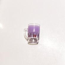 10 chiếc 3D Ngọc Trai Sữa Trà Nhựa Hạt Mặt Dây Chuyền Đồ Uống Charm DIY Móc Khóa Trang Sức Trang Trí Phụ Kiện Chụp Ảnh đạo cụ YZ163(China)