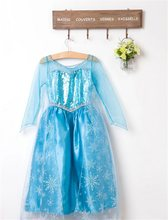 2019 детское платье Белоснежки для девочек, платье принцессы для выпускного вечера, Детская праздничная одежда в подарок для малышей, нарядна...(China)